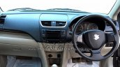 (2015) Maruti Dzire facelift dashboard spotted at dealer yard