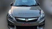 (2015) Maruti Dzire facelift front spotted at dealer yard