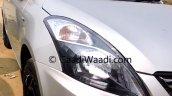 2015 Maruti Dzire facelift headlight dealer yard
