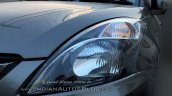 (2015) Maruti Dzire facelift headlight spotted at dealer yard
