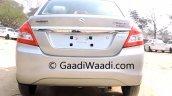 2015 Maruti Dzire facelift rear dealer yard