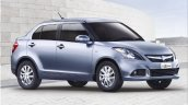 2015 Maruti Swift Dzire front three quarters official pic