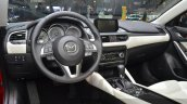 2015 Mazda 6 dashboard at 2015 Geneva Motor Show