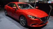 2015 Mazda 6 front three quarter view at 2015 Geneva Motor Show