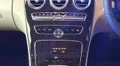 2015 Mercedes C Class Diesel launch center console