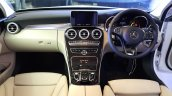 2015 Mercedes C Class Diesel launch dashboard