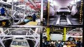 2015 Mercedes C Class petrol CKD assembly