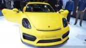 2015 Porsche Cayman GT4 front(2) view at 2015 Geneva Motor Show
