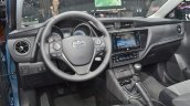 2015 Toyota Auris dashboard at the 2015 Geneva Motor Show