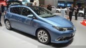 2015 Toyota Auris front three quarter view at the 2015 Geneva Motor Show