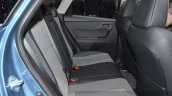 2015 Toyota Auris rear seat at the 2015 Geneva Motor Show