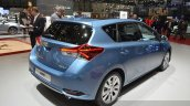 2015 Toyota Auris rear three quarter view at the 2015 Geneva Motor Show