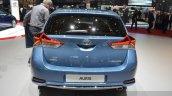 2015 Toyota Auris rear view at the 2015 Geneva Motor Show