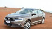 2015 VW Jetta TSI facelift front quarter Review