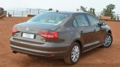 2015 VW Jetta TSI facelift rear quarter Review