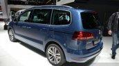 2015 Volkswagen Sharan rear three quarter view at 2015 Geneva Motor Show