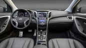 2016 Hyundai Elantra GT press shot dashboard