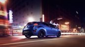 2016 Hyundai Veloster Turbo R-Spec Rally Edition press shot rear three quarter