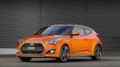 2016 Hyundai Veloster Turbo press shot front three quarter