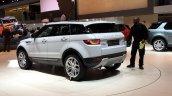 2016 Range Rover Evoque rear three quarters leak at the Geneva Motor Show 2015