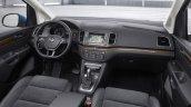 2015 Volkswagen Sharan facelift interior cabin