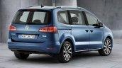 2016 Volkswagen Sharan facelift rear three quarter