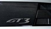 Aston Martin Vantage GT3 special edition GT3 emblem
