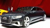 Audi Prologue Avant Concept front three quarter view at 2015 Geneva Motor Show