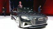 Audi Prologue Avant Concept front three quarter(6) view at 2015 Geneva Motor Show