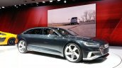 Audi Prologue Avant Concept front threee quarter(2) view at 2015 Geneva Motor Show