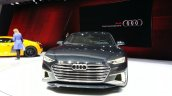 Audi Prologue Avant Concept front view at 2015 Geneva Motor Show