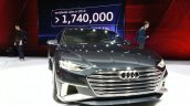 Audi Prologue Avant Concept front(2) view at 2015 Geneva Motor Show