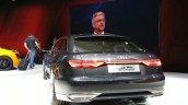 Audi Prologue Avant Concept rear three quarter(5) view at 2015 Geneva Motor Show