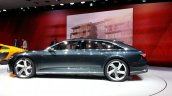Audi Prologue Avant Concept side(2) view at 2015 Geneva Motor Show