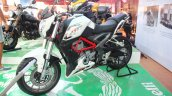 DSK Benelli TNT 250 At India Bike Week 2015 Front Left Three Quarters