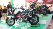 DSK Benelli TNT 250 At India Bike Week 2015 Left Side Profile