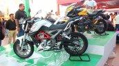 DSK Benelli TNT 250 At India Bike Week 2015 Left Side Profile