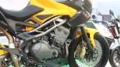 DSK Benelli Trek At India Bike Week 2015 Rear Wheel Engine