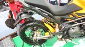 DSK Benelli Trek At India Bike Week 2015 Rear Wheel