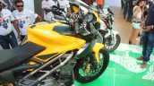 DSK Benelli Trek At India Bike Week 2015 tank