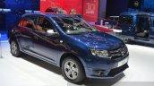 Dacia Logan Special Edition front three quarter view at 2015 Geneva Motow Show