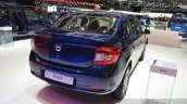 Dacia Logan Special Edition rear three quarter view at 2015 Geneva Motow Show