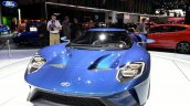 Ford GT front three quarters at the 2015 Geneva Motor Show