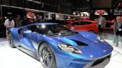 Ford GT front three quarters left at the 2015 Geneva Motor Show