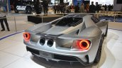 Ford GT rear three quarter view at the 2016 Chicago Auto Show