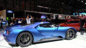 Ford GT side view at the 2015 Geneva Motor Show