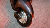 Honda Activa 3G front wheel at the launch