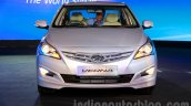 Hyundai Verna facelift front launch