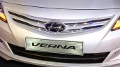 Hyundai Verna facelift grille launch