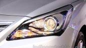 Hyundai Verna facelift headlight launch
